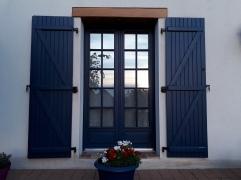 Porte fenêtre ouverte URANUS