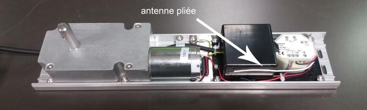 Antenne WINEO pliée